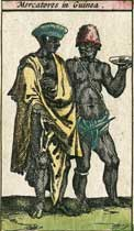 Mercatores in Guinea, year 1617