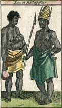 Rex in Madagascar, year 1617