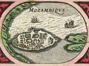 Illia de Mozambique (Mozambique), year 1617