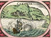 Isle of Grand Canaria (Canary Islands), year 1617