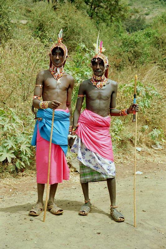 Naked Africa > Stories from Africa > Wedding in the Samburu